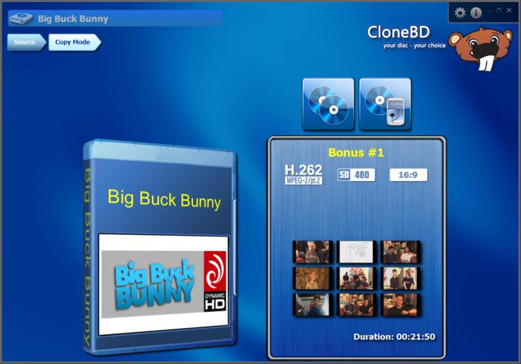 CloneBD - Elaborate Bytes