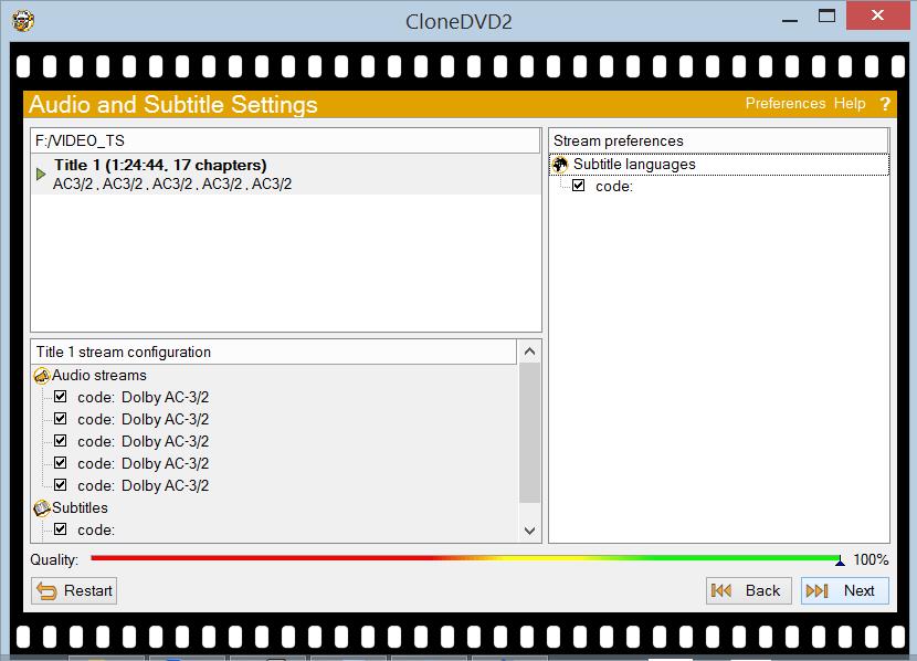 CloneDVD screenshot